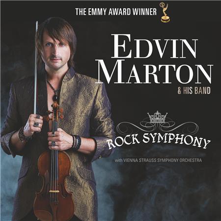 Edvin Marton & Vienna Strauss Symphony Orchestra - Rock Symphony (2016)